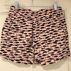JCrew linen shorts